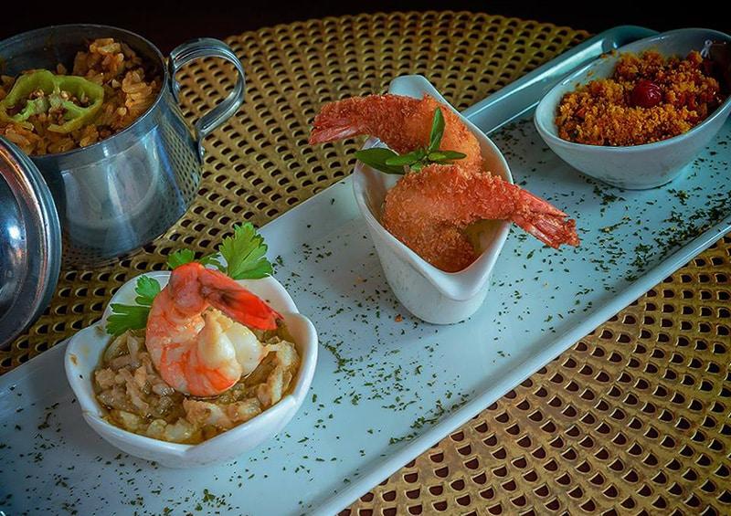Frutos do mar em Fortaleza