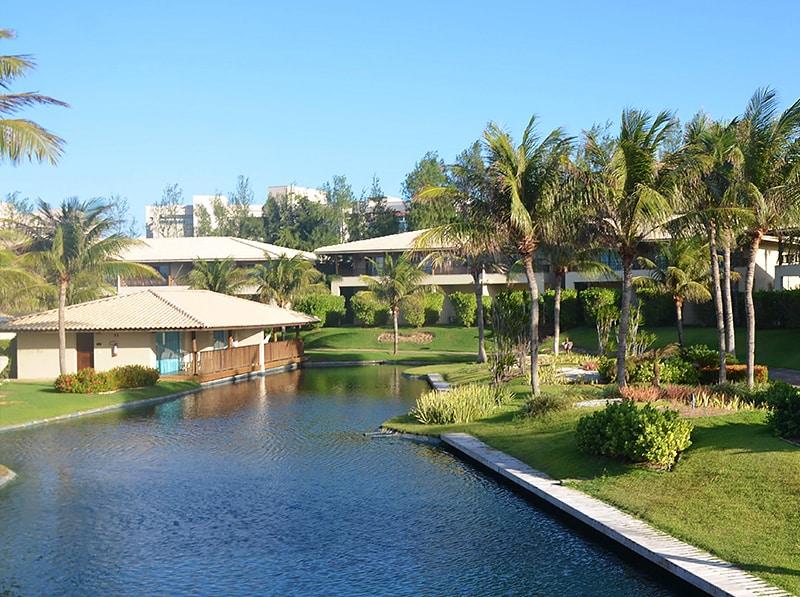 Hotel na praia para banho em Fortaleza