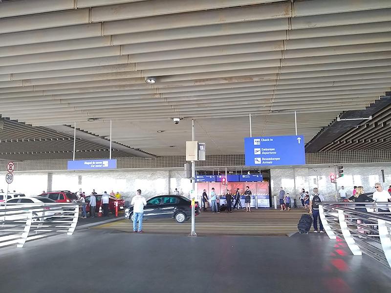 Metrô no aeroporto de Fortaleza