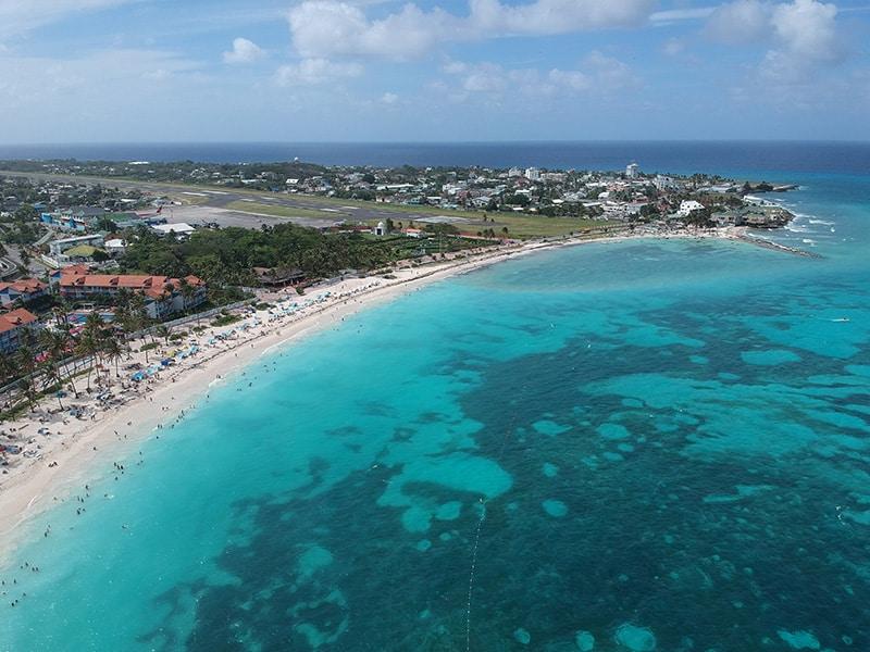 Playa Sprat Bight em San Andrés