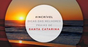 Mapa das praias mais bonitas de Santa Catarina
