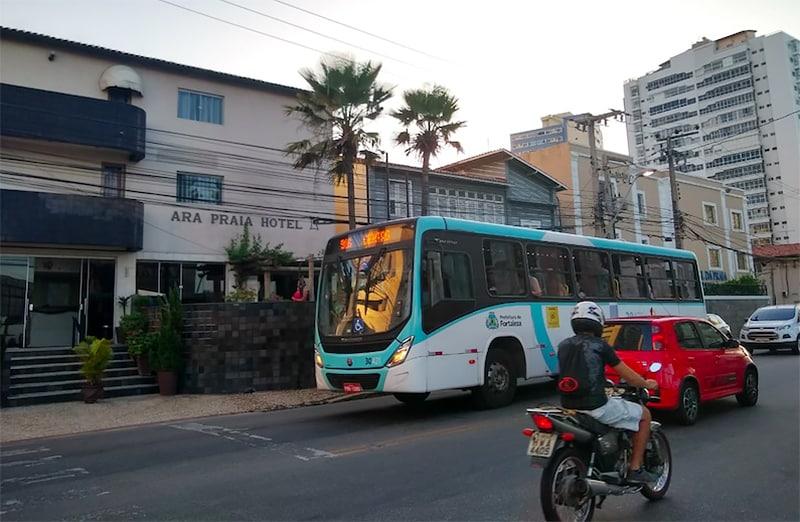 Como andar de ônibus em Fortaleza