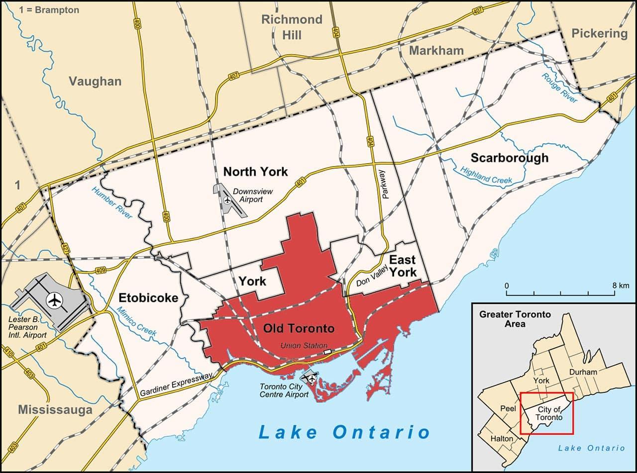 Dicas de hotéis em Toronto