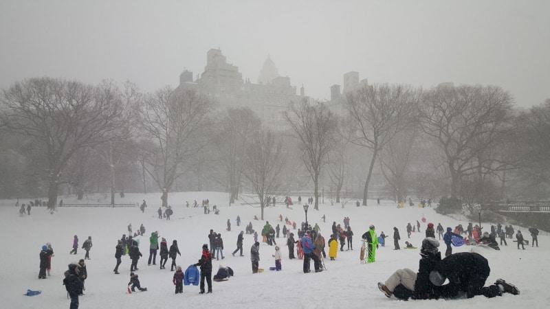 Previsão do tempo Nova York fevereiro