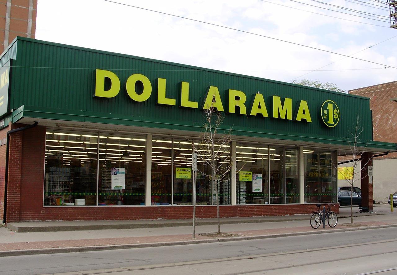 Lojas de 1,99 em Toronto