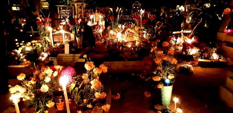 Festa no México Dia dos Mortos
