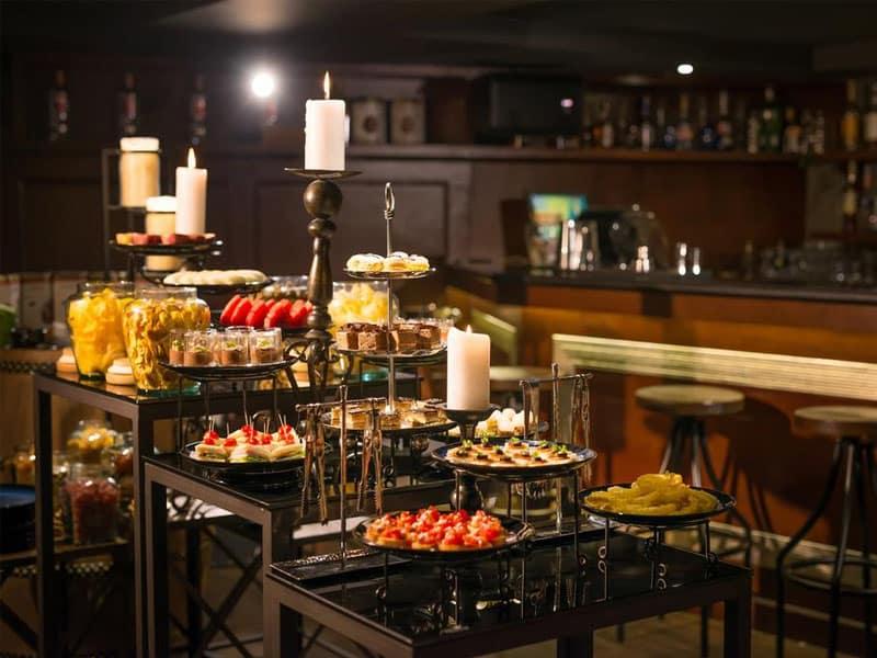 Qual o hotel com a melhor comida do mundo?