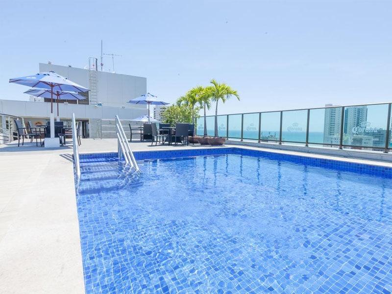 Melhores hotéis em Recife com piscina à beira mar
