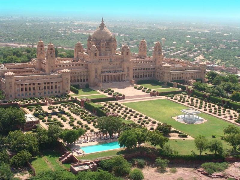 Melhor hotel do mundo na Índia para viagem de luxo