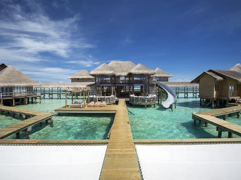 Melhor hotel do mundo nas Maldivas