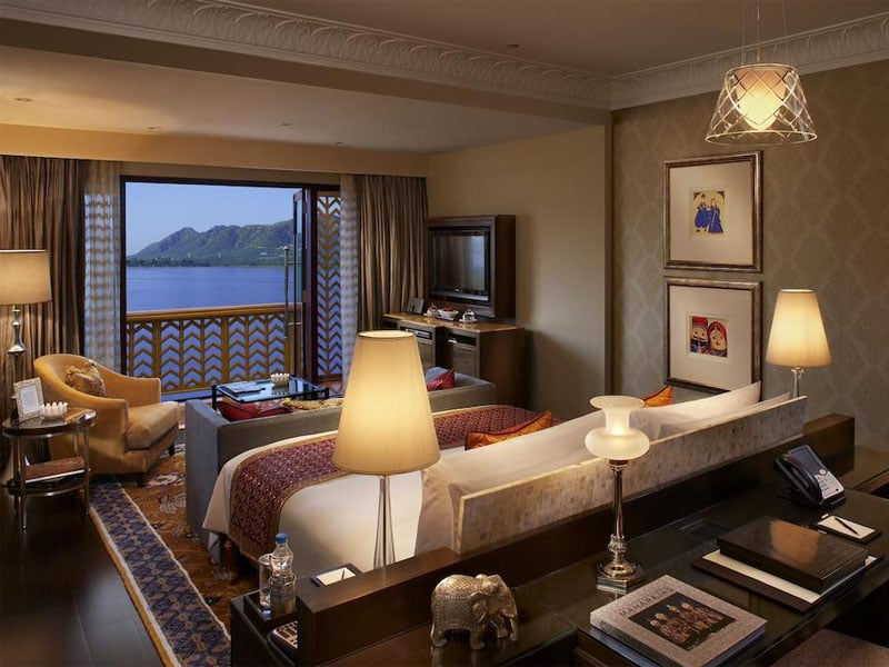 Melhor hotel de luxo do mundo na Índia