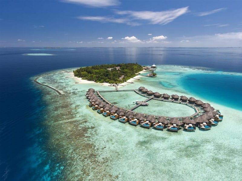 Melhores hotéis do mundo paradisíacos