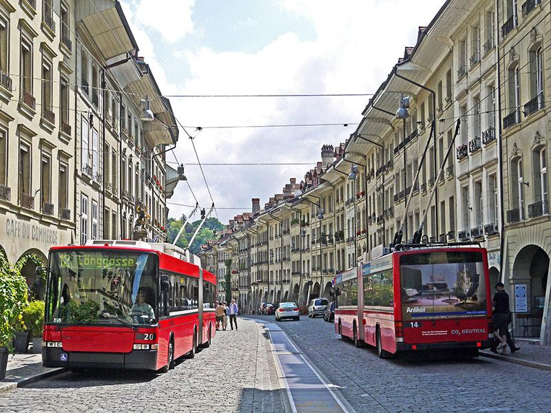 Como chegar em Berna de Lucerna usando carro