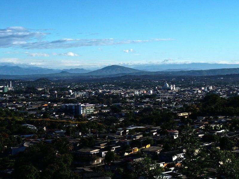 Roteiro em El Salvador