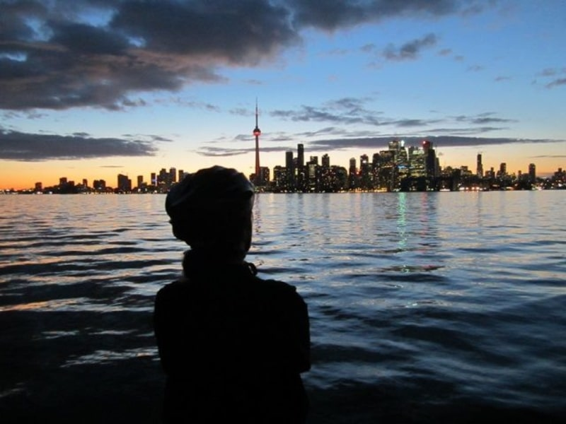 Passeio de bike em Toronto