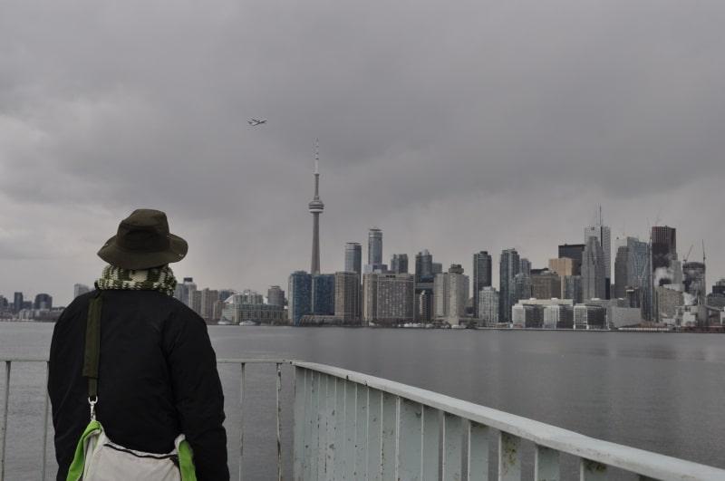 Primeira vez no Canadá