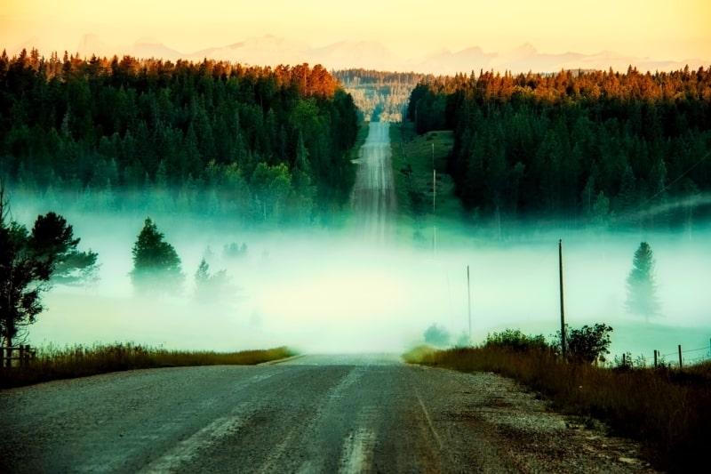 Como são as estradas do Canadá