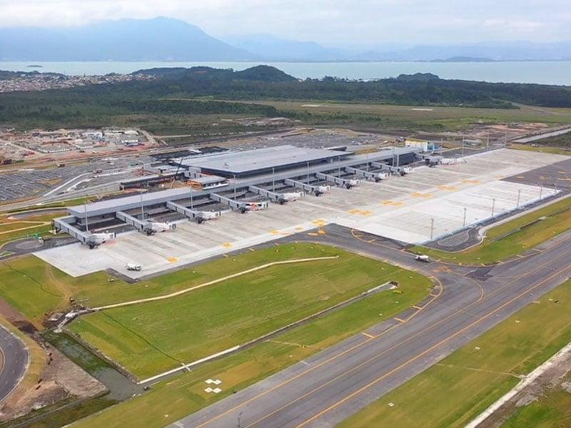 Aeroporto de Florianópolis, Santa Catarina