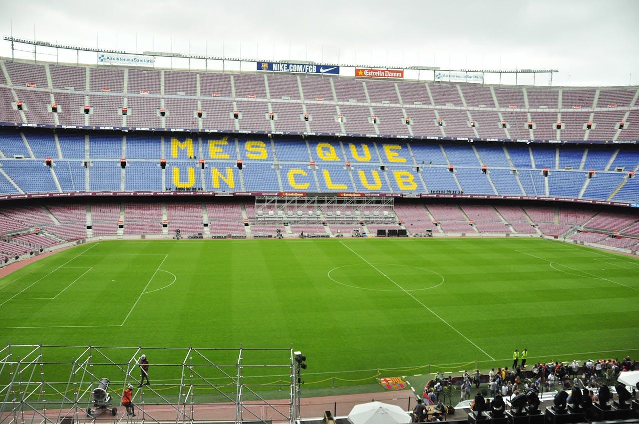 Passeio em Barcelona no maior estádio da Europa