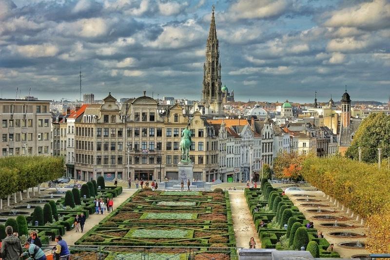 Mapa da Bélgica o que visitar