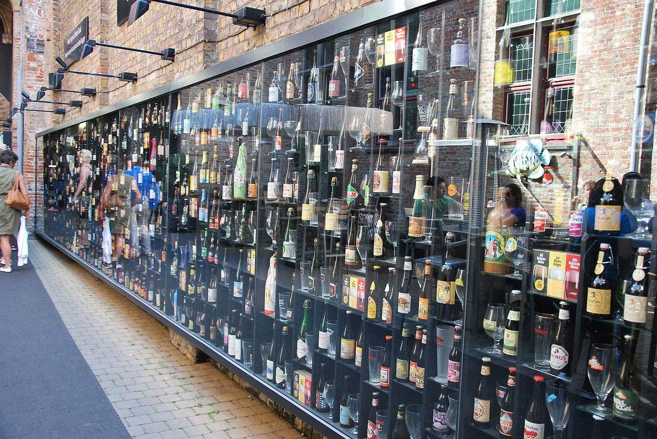 Cervejaria Halve Maan em Bruges