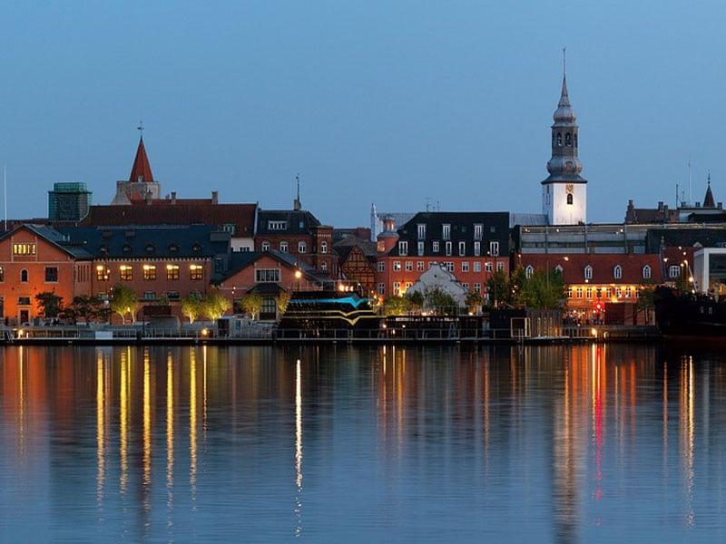 Principais cidades da Dinamarca