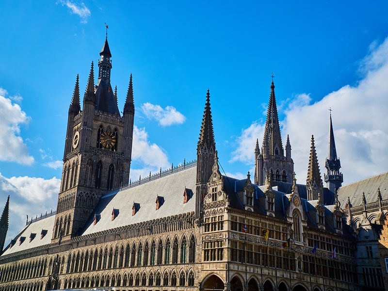 Cidades arquitetônicas na Belgica