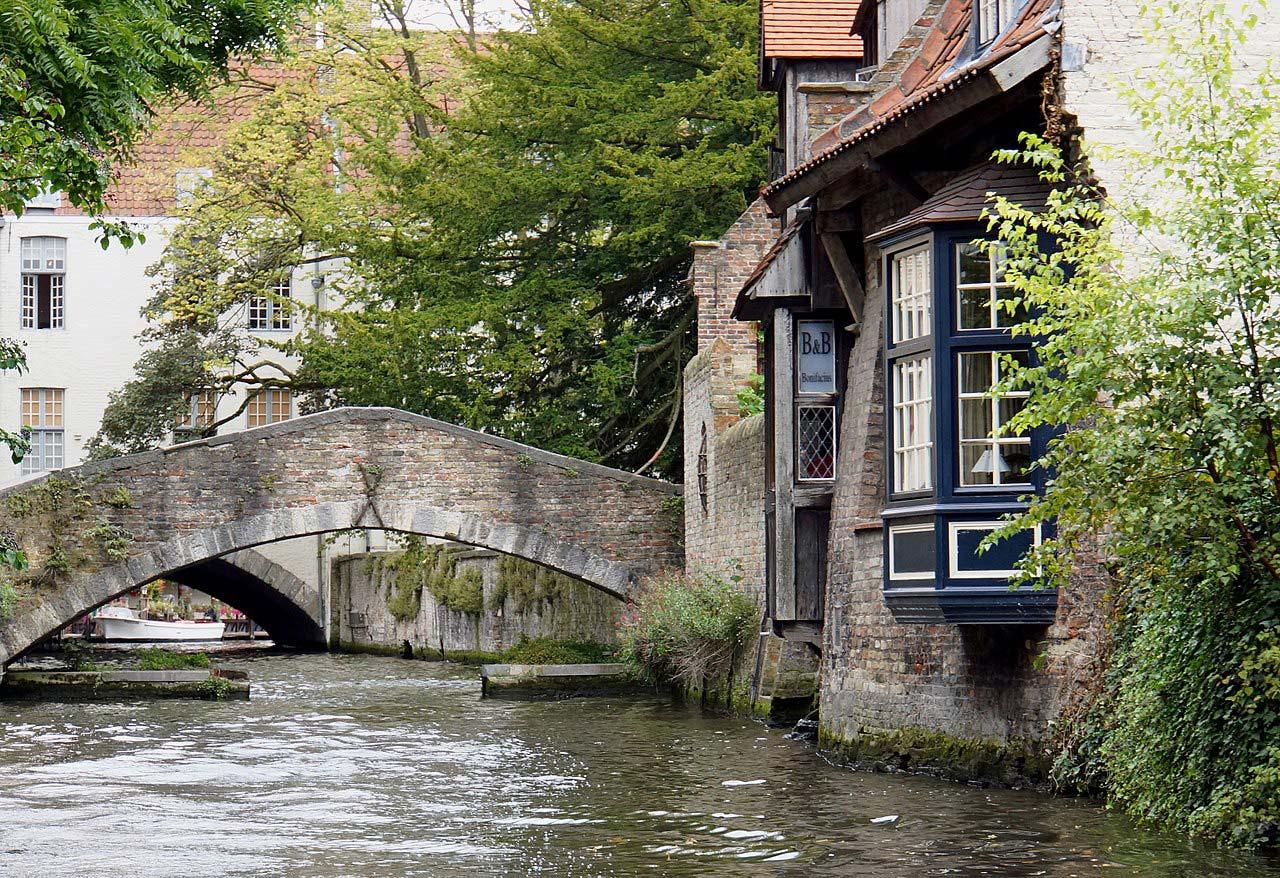Pontos de interesse em Bruges