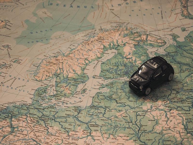 onde dirigir na europa