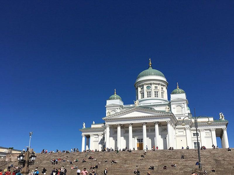 Roteiro a pé em Helsinque