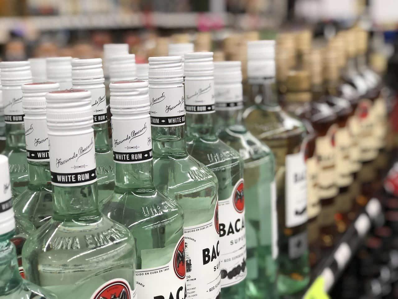 Comprar bebidas nos EUA