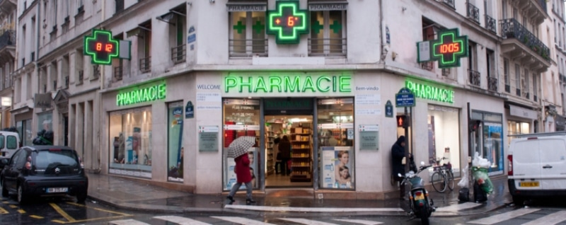 Farmácias em Paris