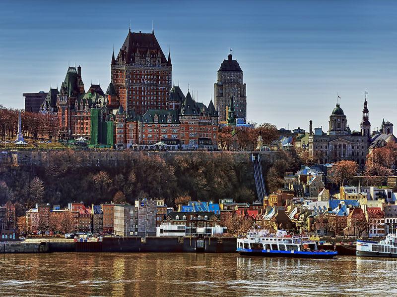 ponto turístico em Quebec