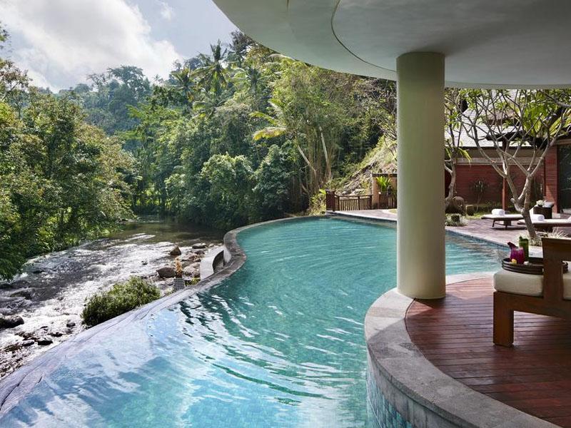 Qual o melhor hotel de luxo da Indonésia?