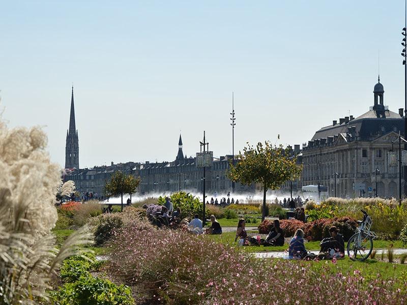Cidades da região Nouvelle-Aquitaine, na França