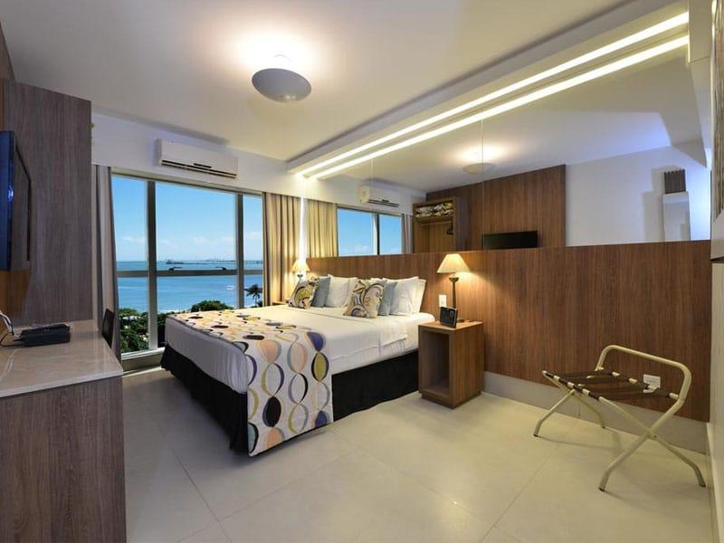 Melhor hotel pra ficar em Meireles Fortaleza