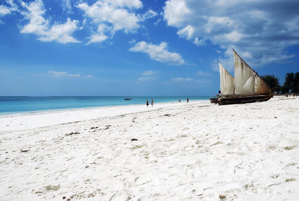 Praias de areia branca