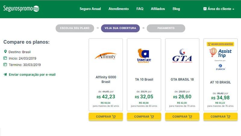 Brasileiro precisa de seguro viagem para o brasil