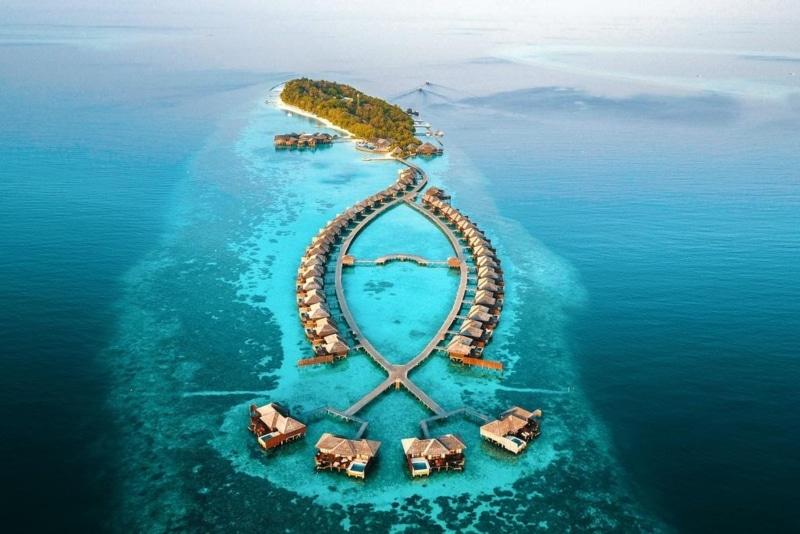 Resort all-inclusive nas Maldivas