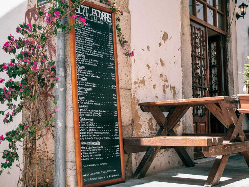 Restaurantes com bom preço em Faro