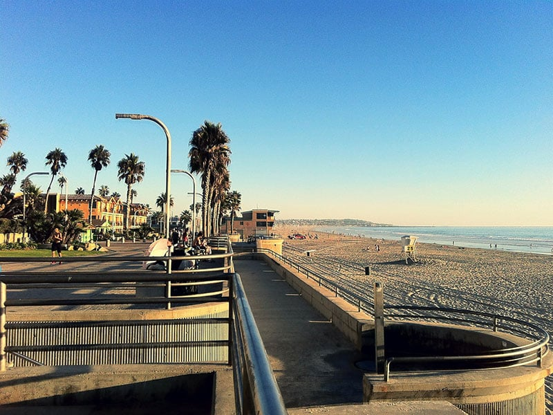 Verão na Califórnia