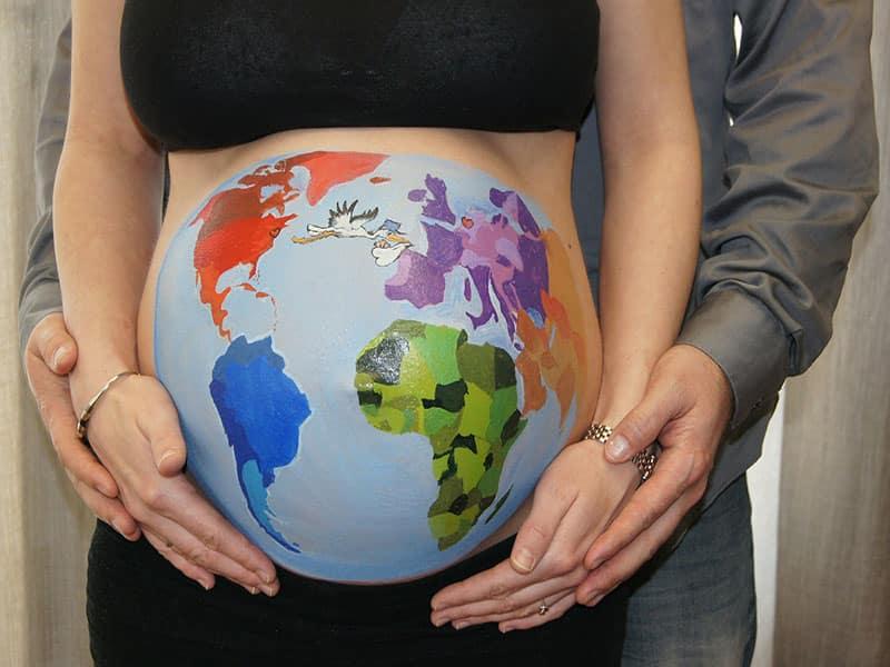 Tem seguro viagem para grávida