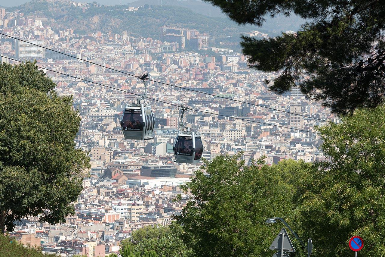 Turistando em Barcelona