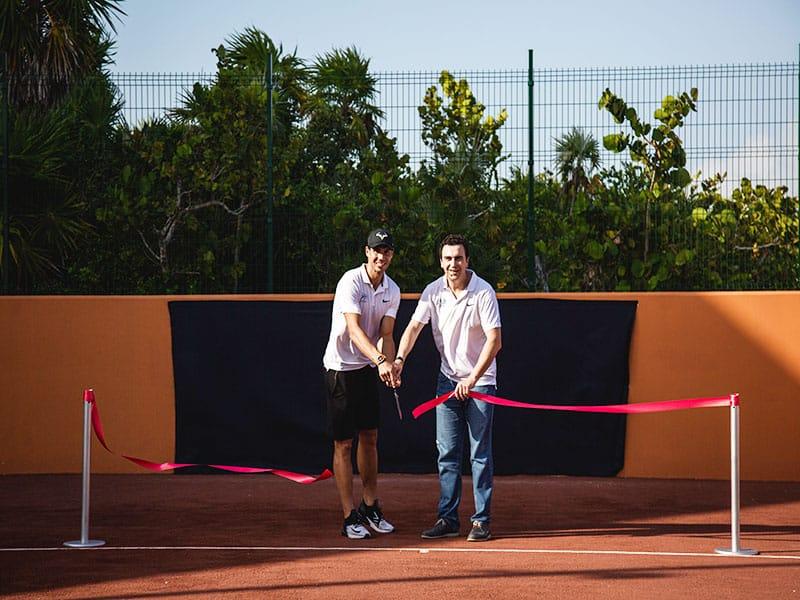Onde fica o Rafa Nadal Tennis Centre em Costa Mujeres?