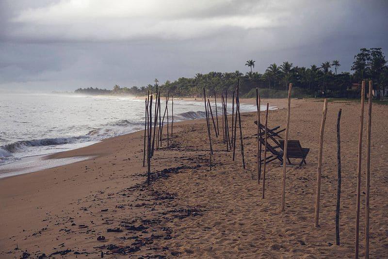 Praias desertas na Bahia