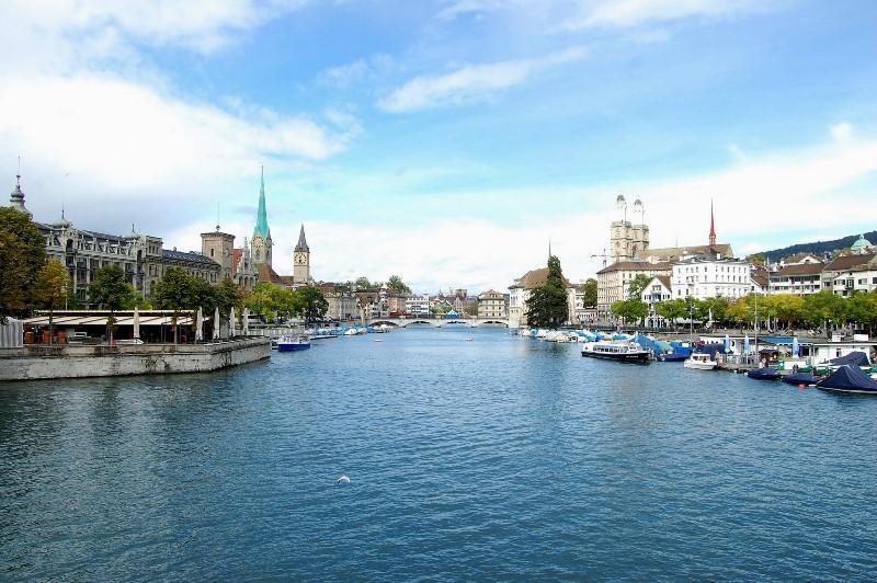 Passeios gratuitos em Zurique