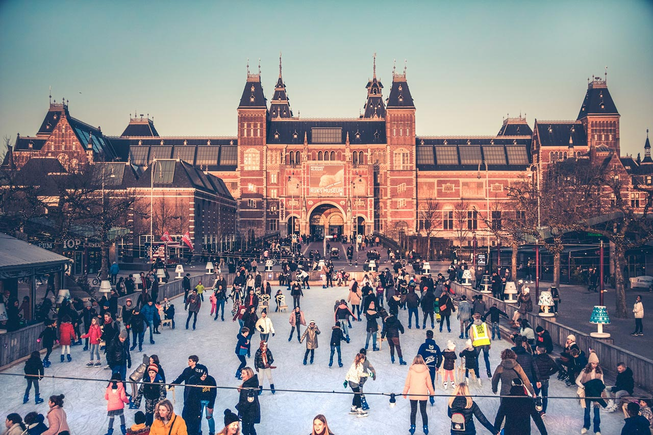 Escala curta em Amsterdam