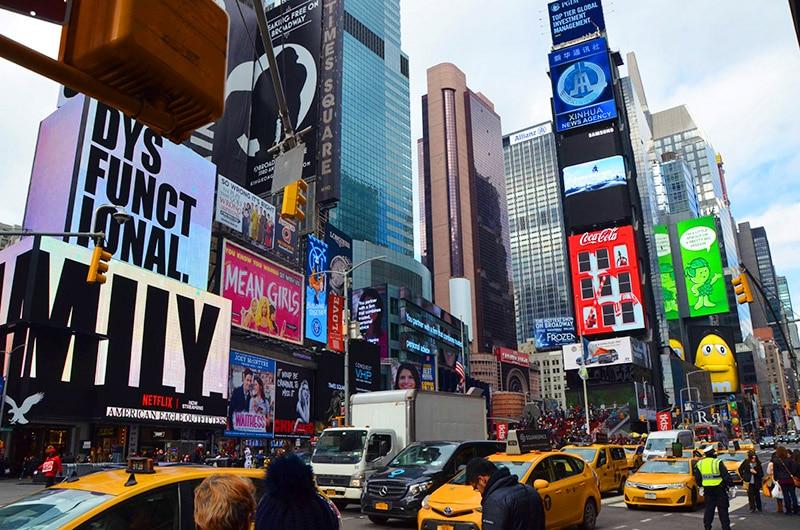 Pacote de viagem para Nova York