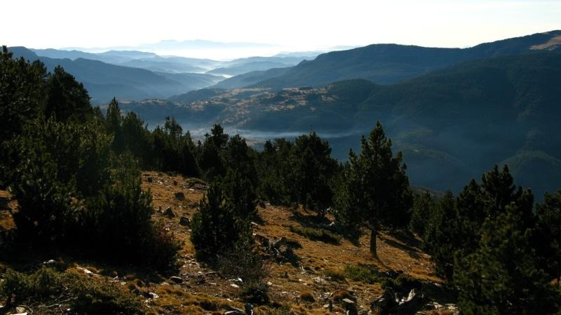 Cadeia montanhosa de Pireneus