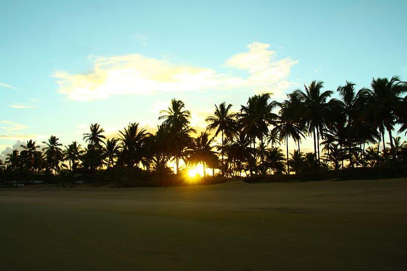 Praias paradisíacas na Bahia